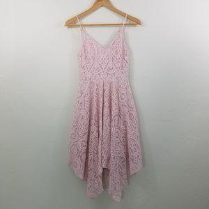 Express Pink Lace Dress Size 0